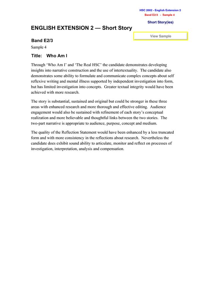 ARC :: E2/3 Response 4